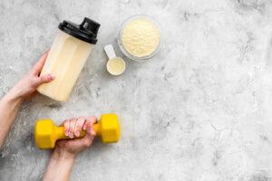 białko po treningu